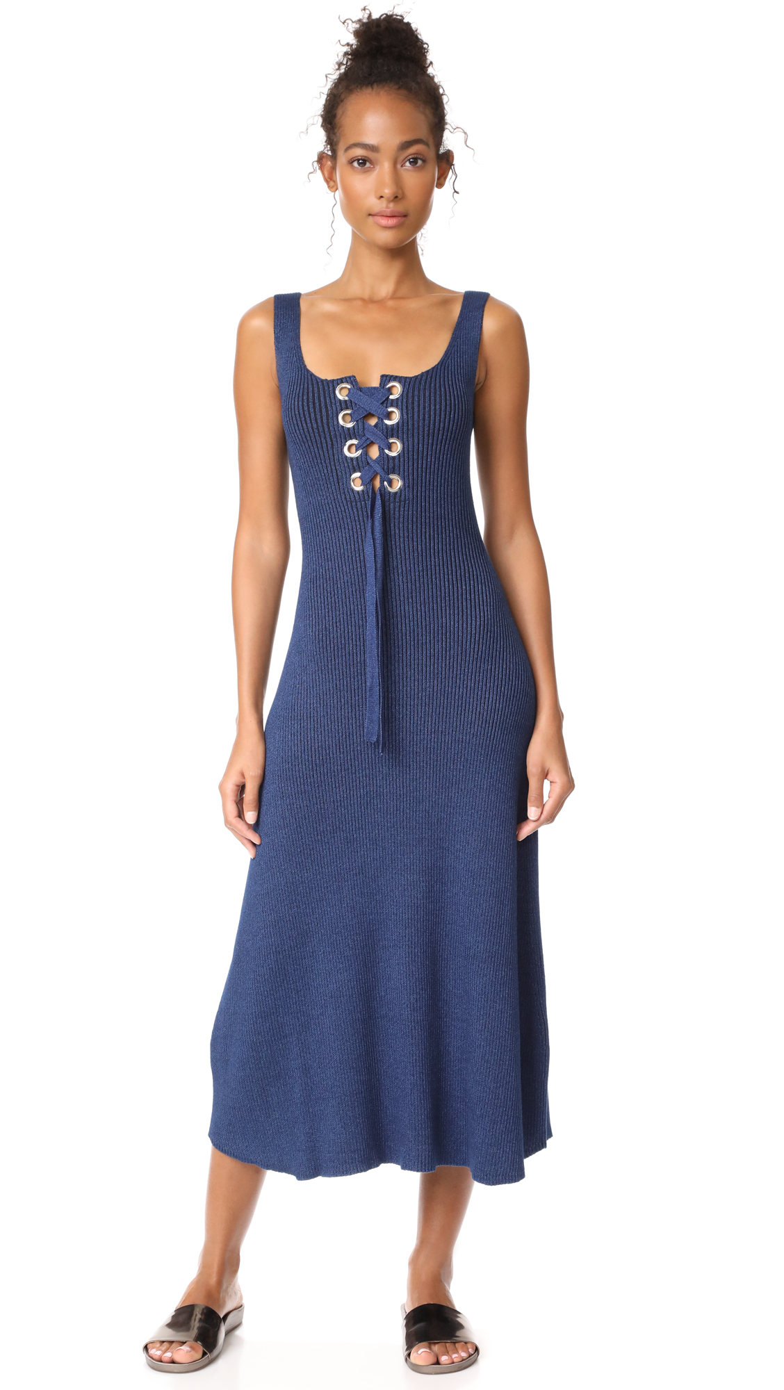 Mara Hoffman Lena Dress - Indigo