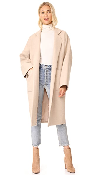 Mara Hoffman Rita Coat In Tan