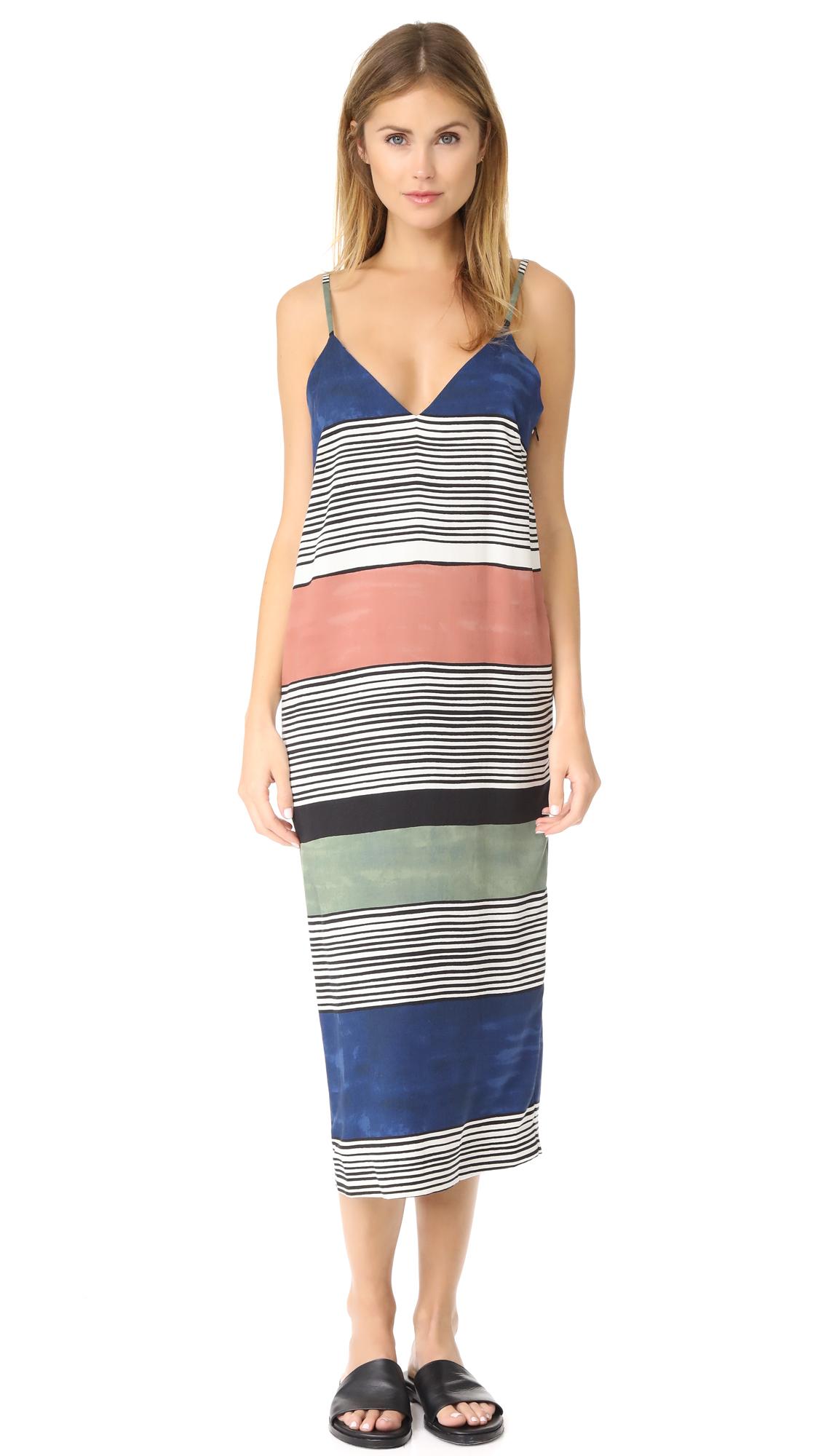 Mara Hoffman Georgia Dress - Navy Multi