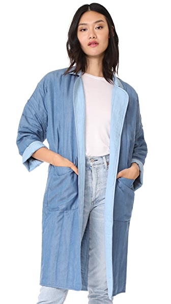Mara Hoffman Winona Coat - Denim