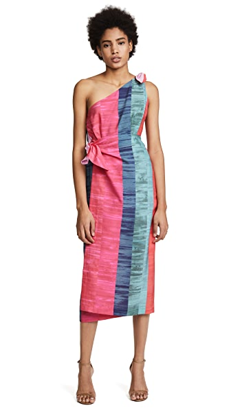 Mara Hoffman Bette Dress In Pink Multi