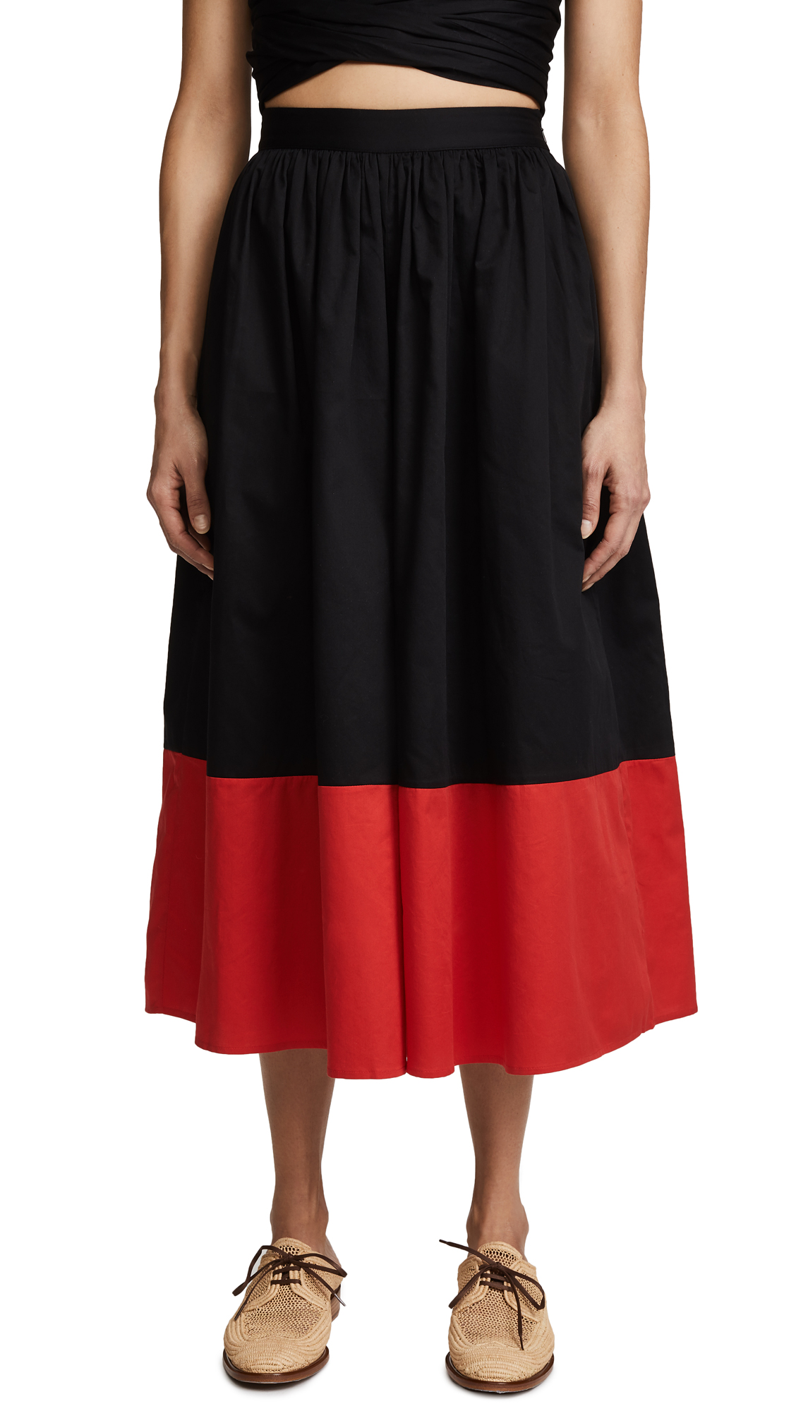 Mara Hoffman Marni Pants - Black/Red