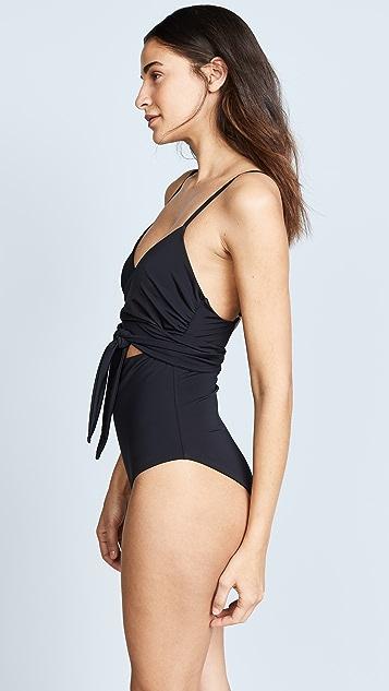 Mara Hoffman Isolde Wrap One Piece