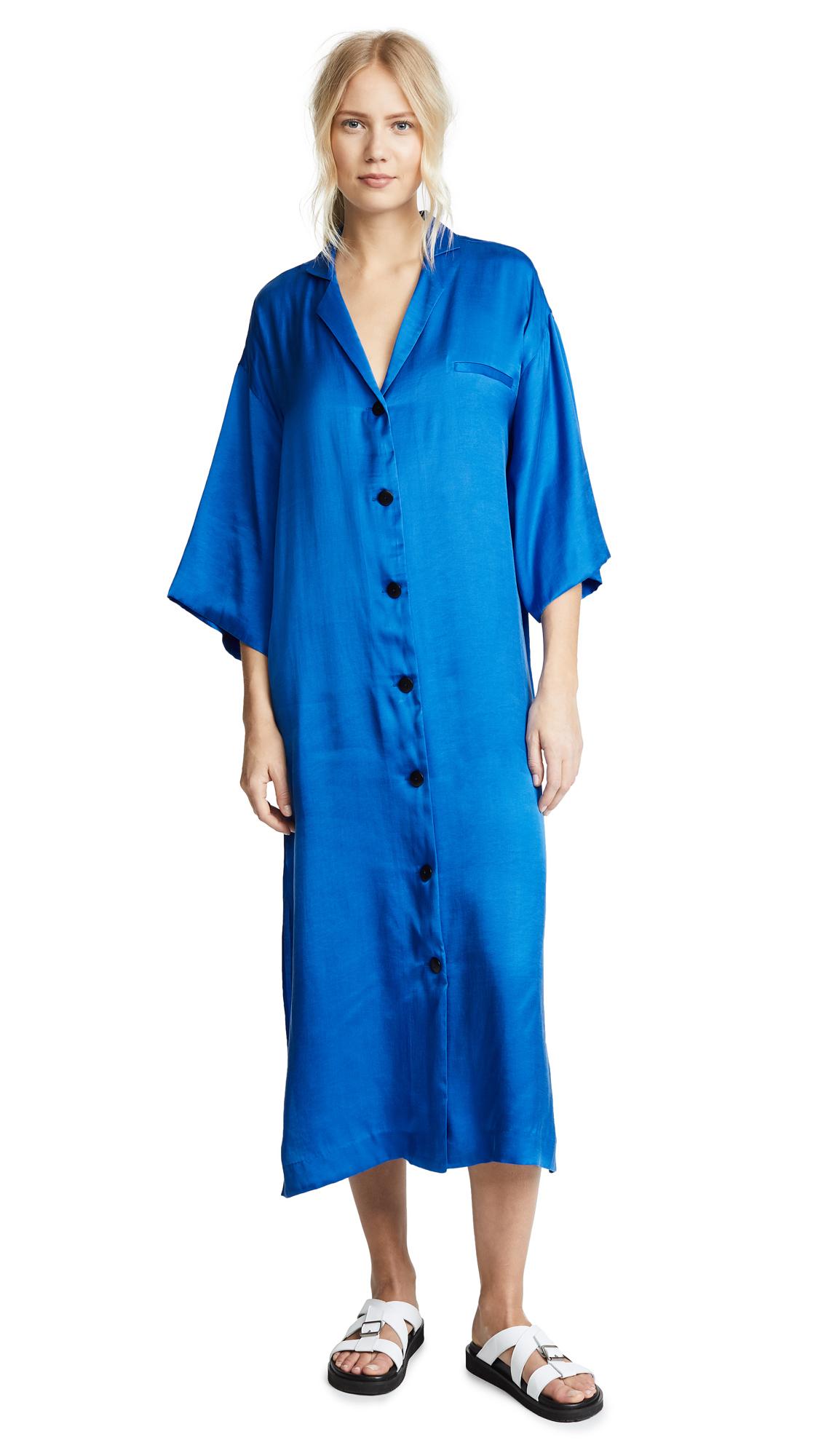 Mara Hoffman Saga Shirt Dress - Blue
