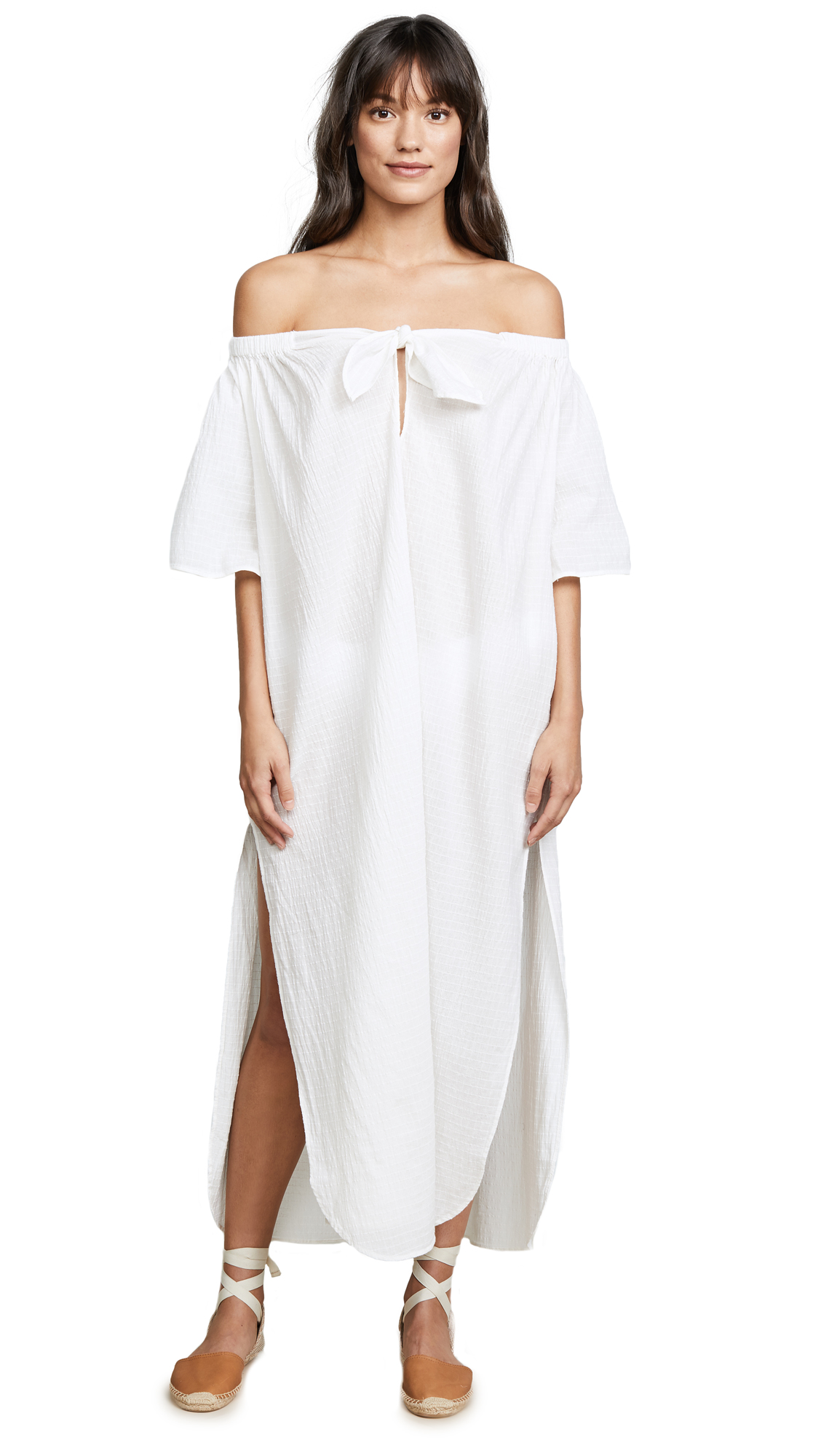 Mara Hoffman Ivory Kamala Dress