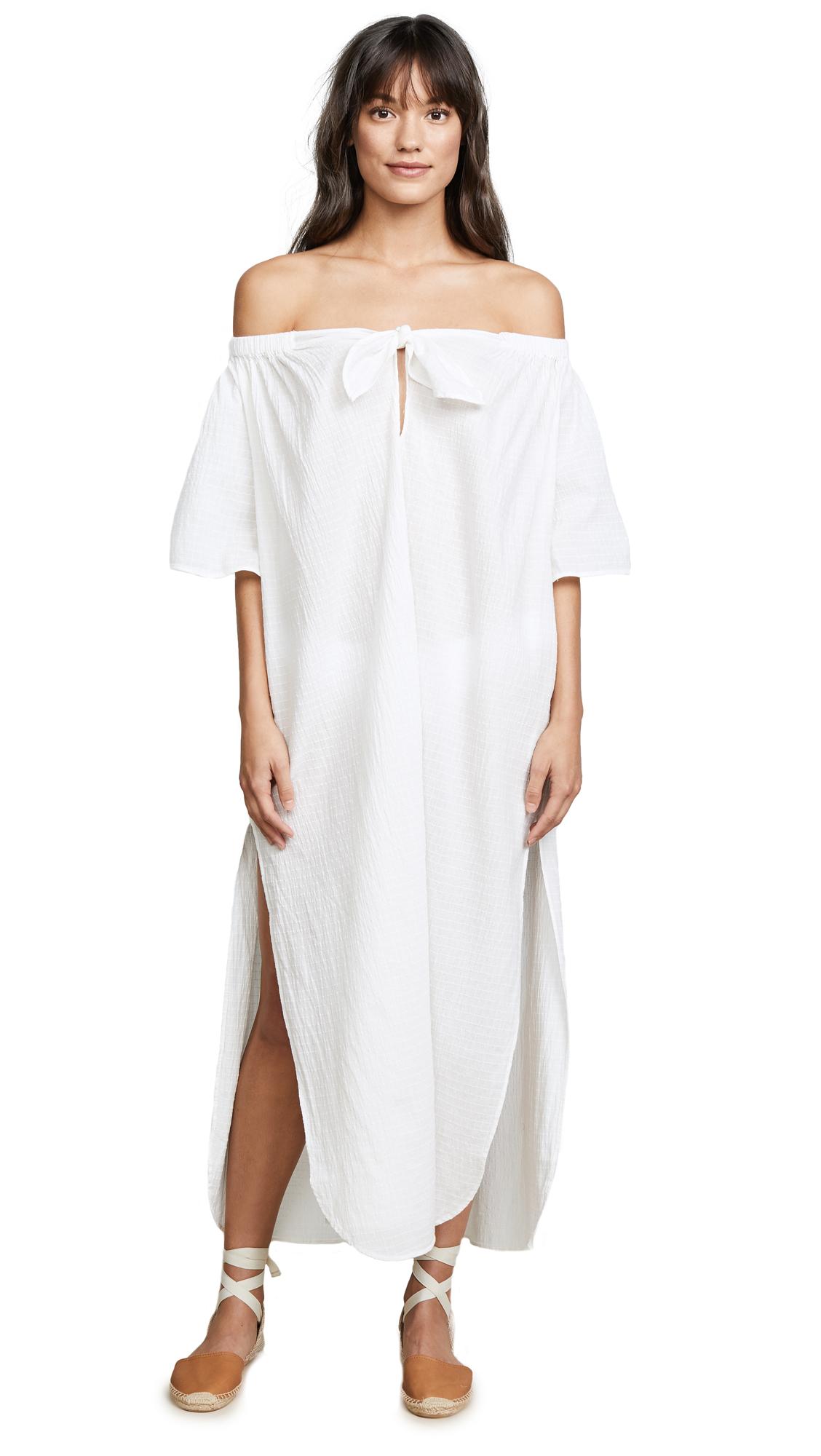 Mara Hoffman Ivory Kamala Dress