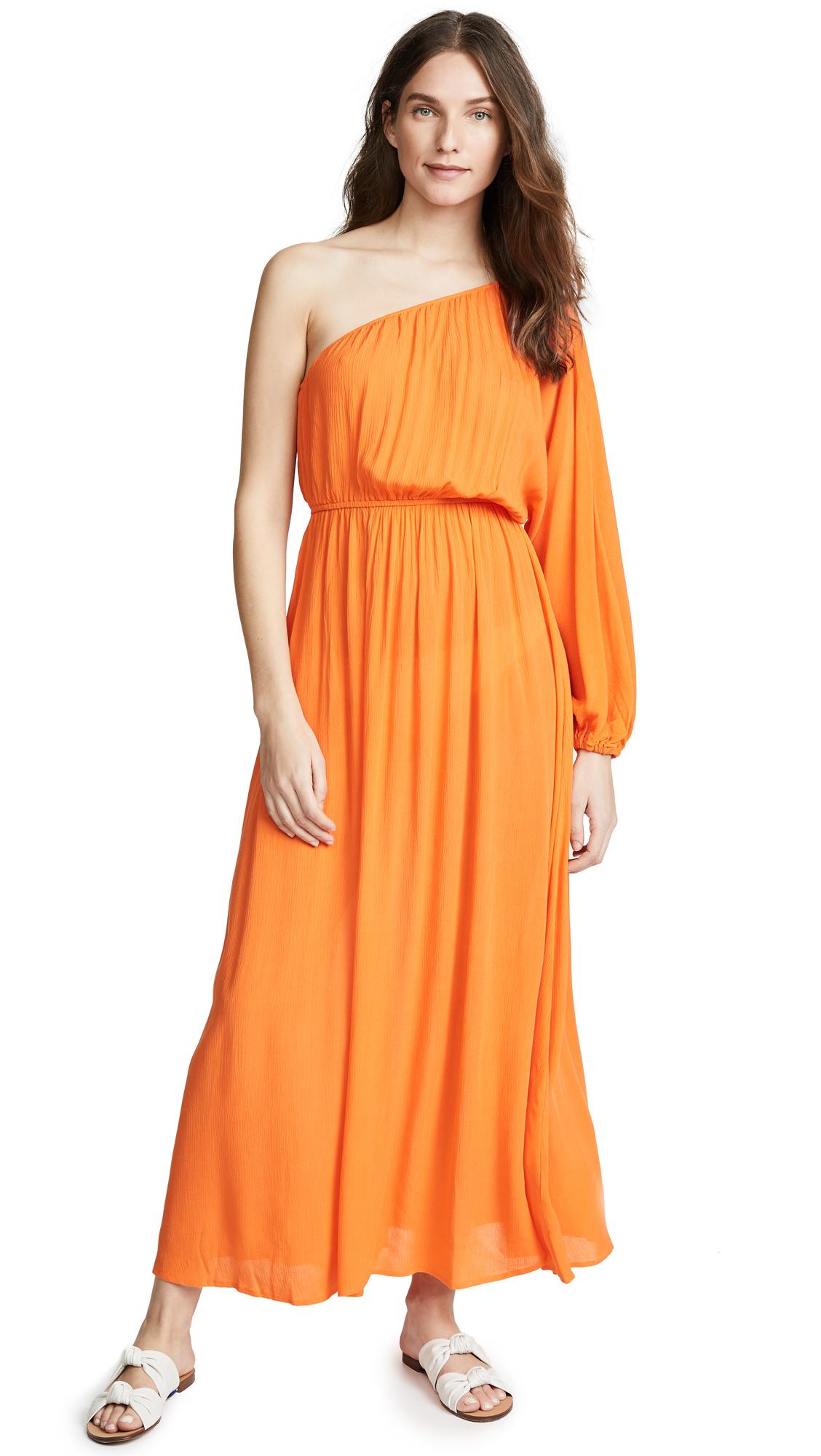 Mara Hoffman Orange Vera Dress - Orange
