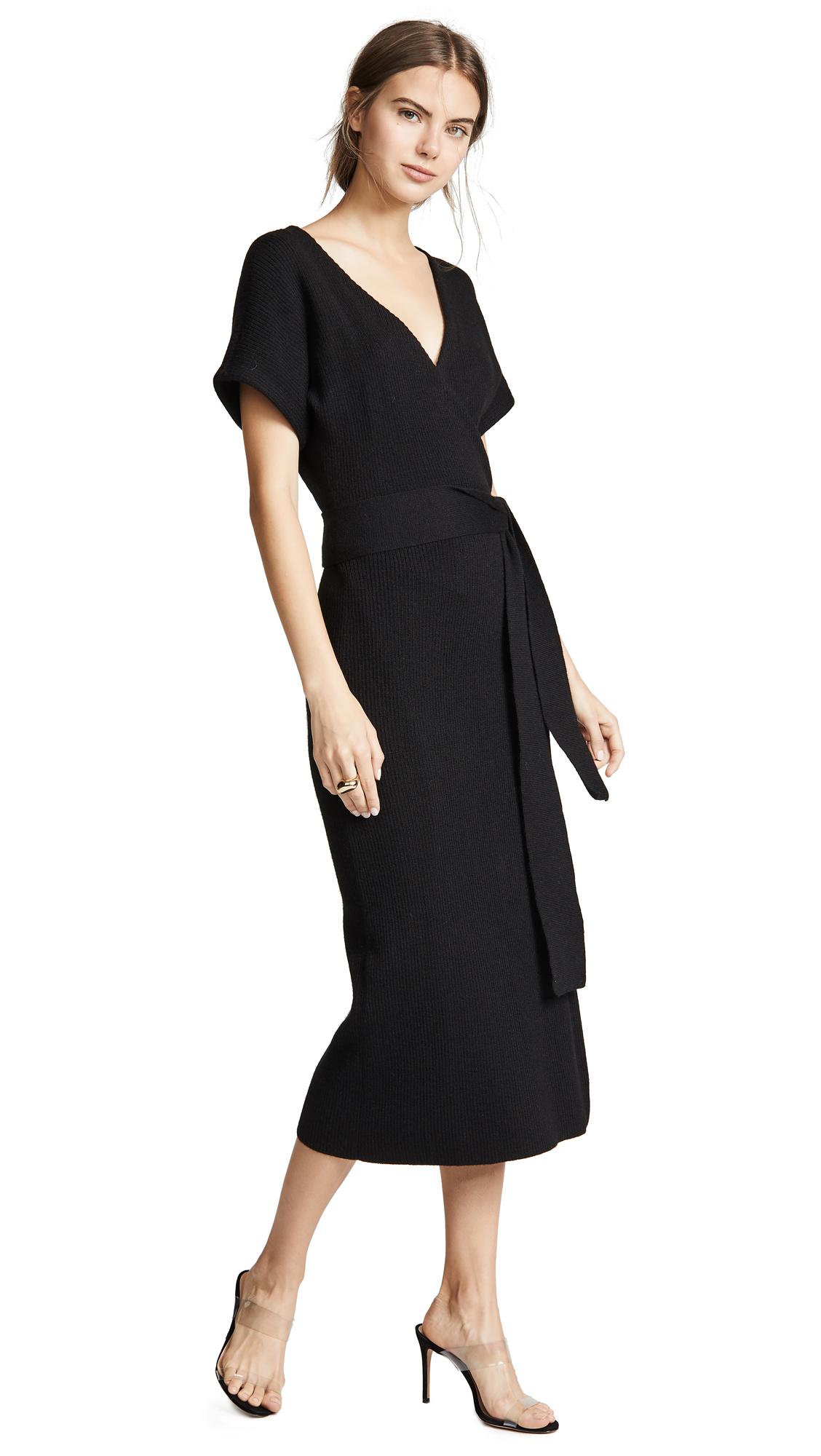 Mara Hoffman Joss Dress - Black