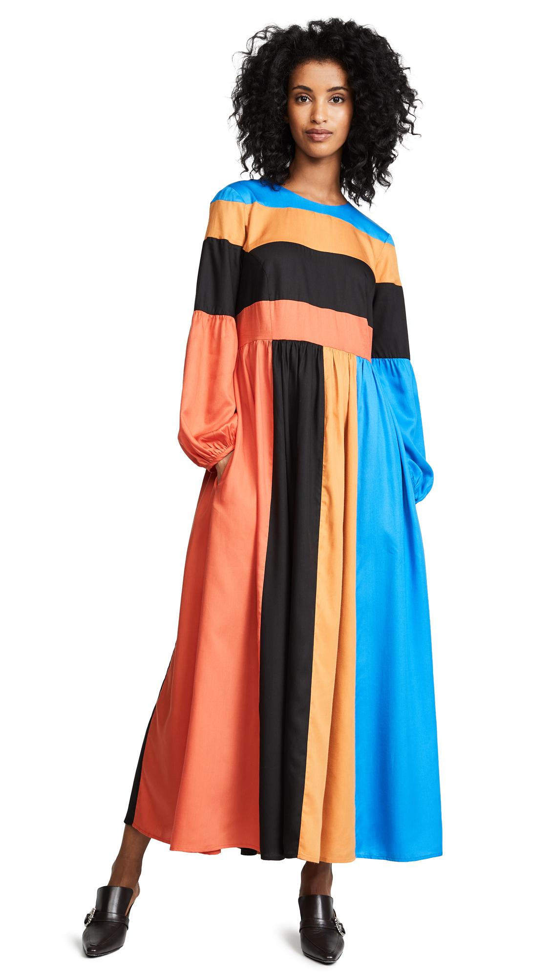 Mara Hoffman Francois Dress - Blue Multi