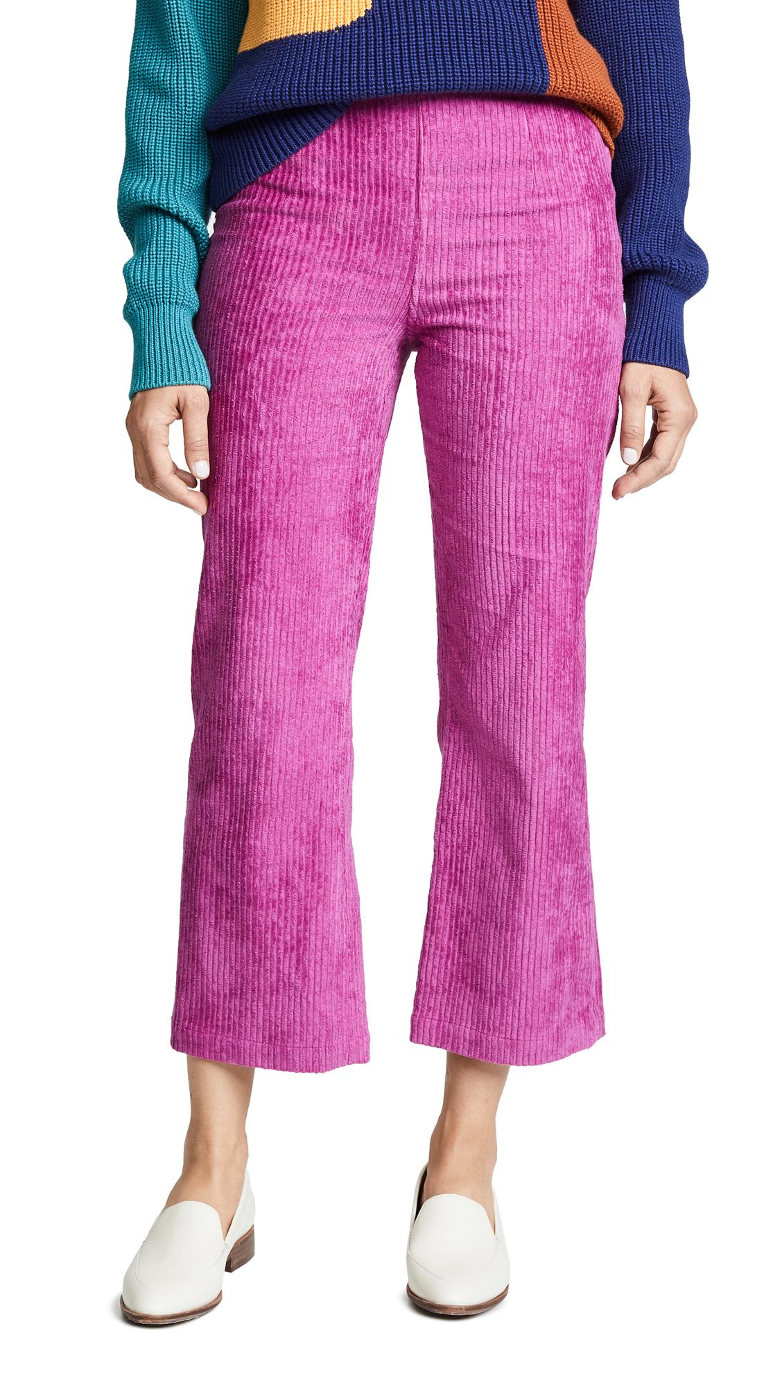 Mara Hoffman Lucy Jeans In Raspberry
