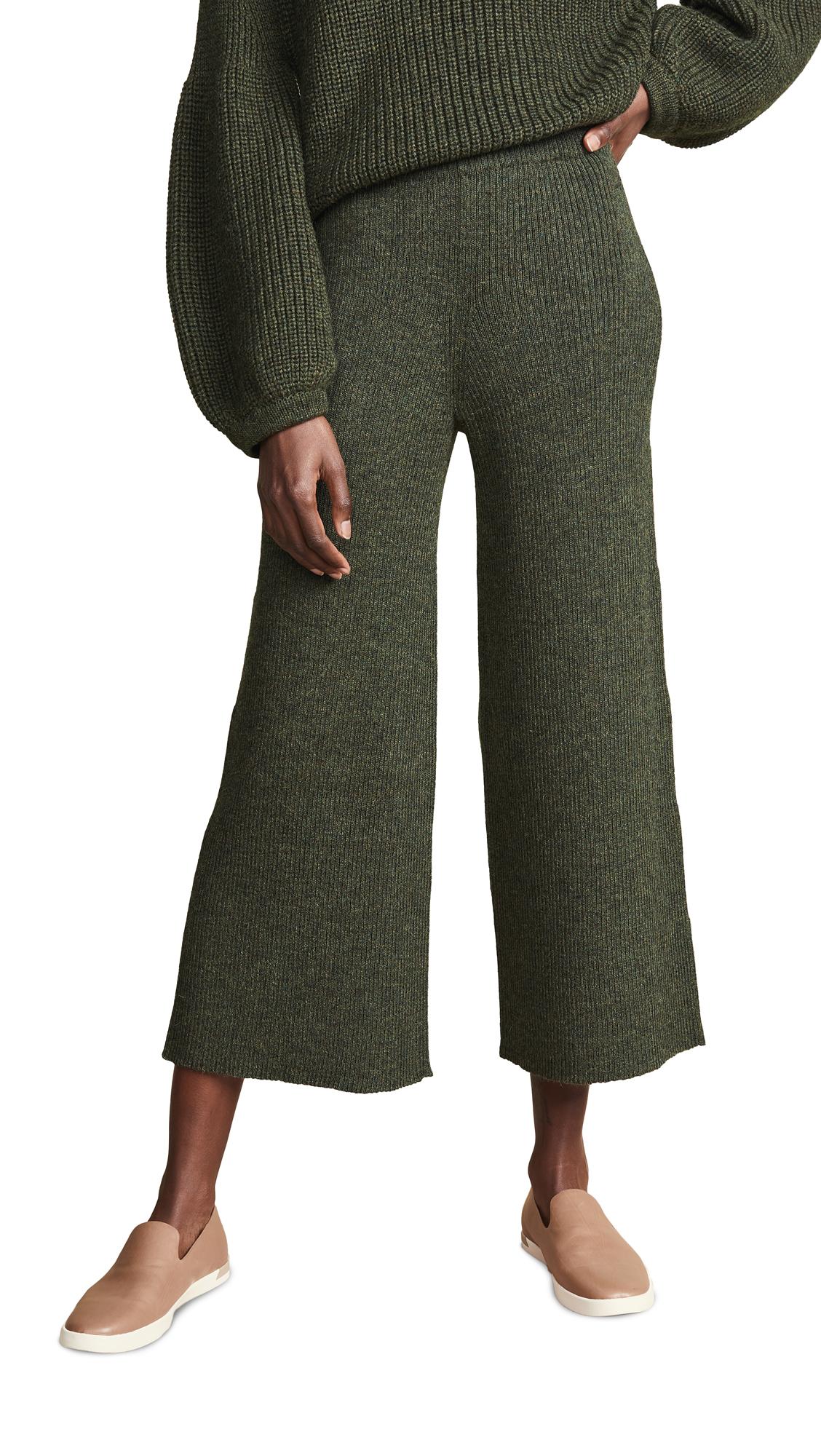 Mara Hoffman Nellie Alpaca Pants In Olive