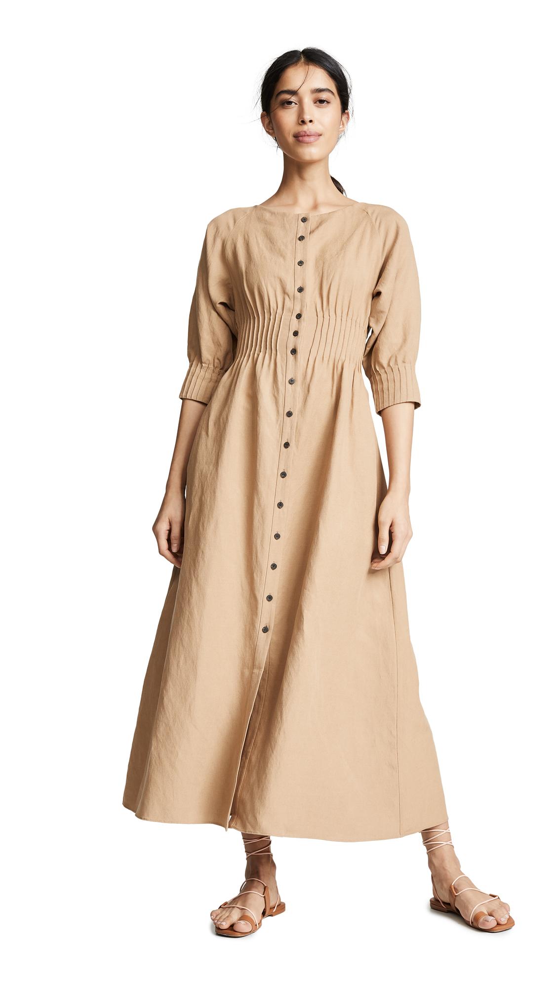 Mara Hoffman Amia Dress - Khaki
