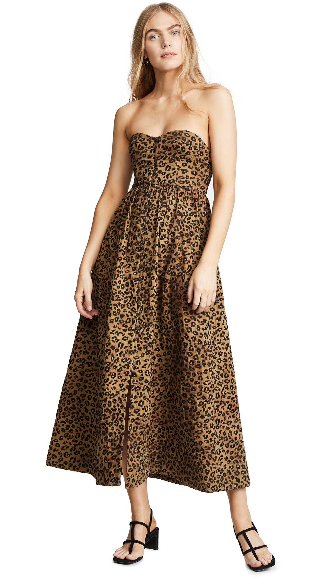 Mara Hoffman Mercedes Dress - Black Sage