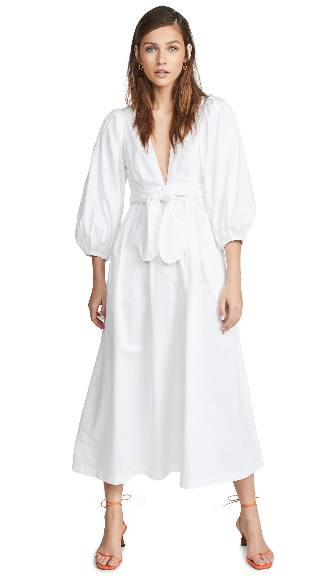 Mara Hoffman Maisie Dress - White