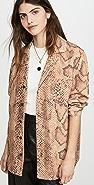 Mara Hoffman Iris 系扣衬衫