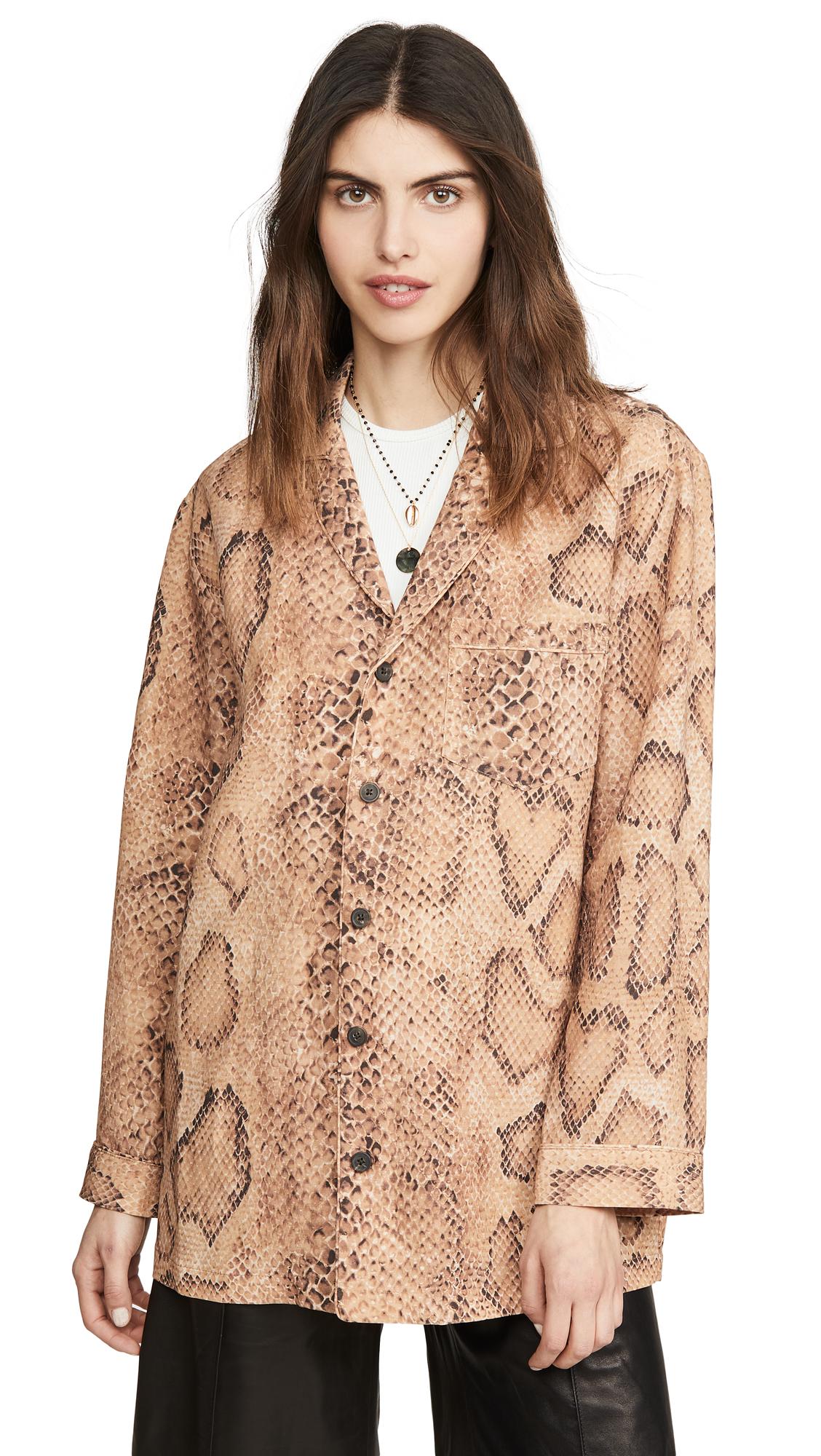 Buy Mara Hoffman online - photo of Mara Hoffman Iris Button Down Shirt