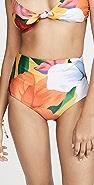 Mara Hoffman Lydia 高腰比基尼泳裤