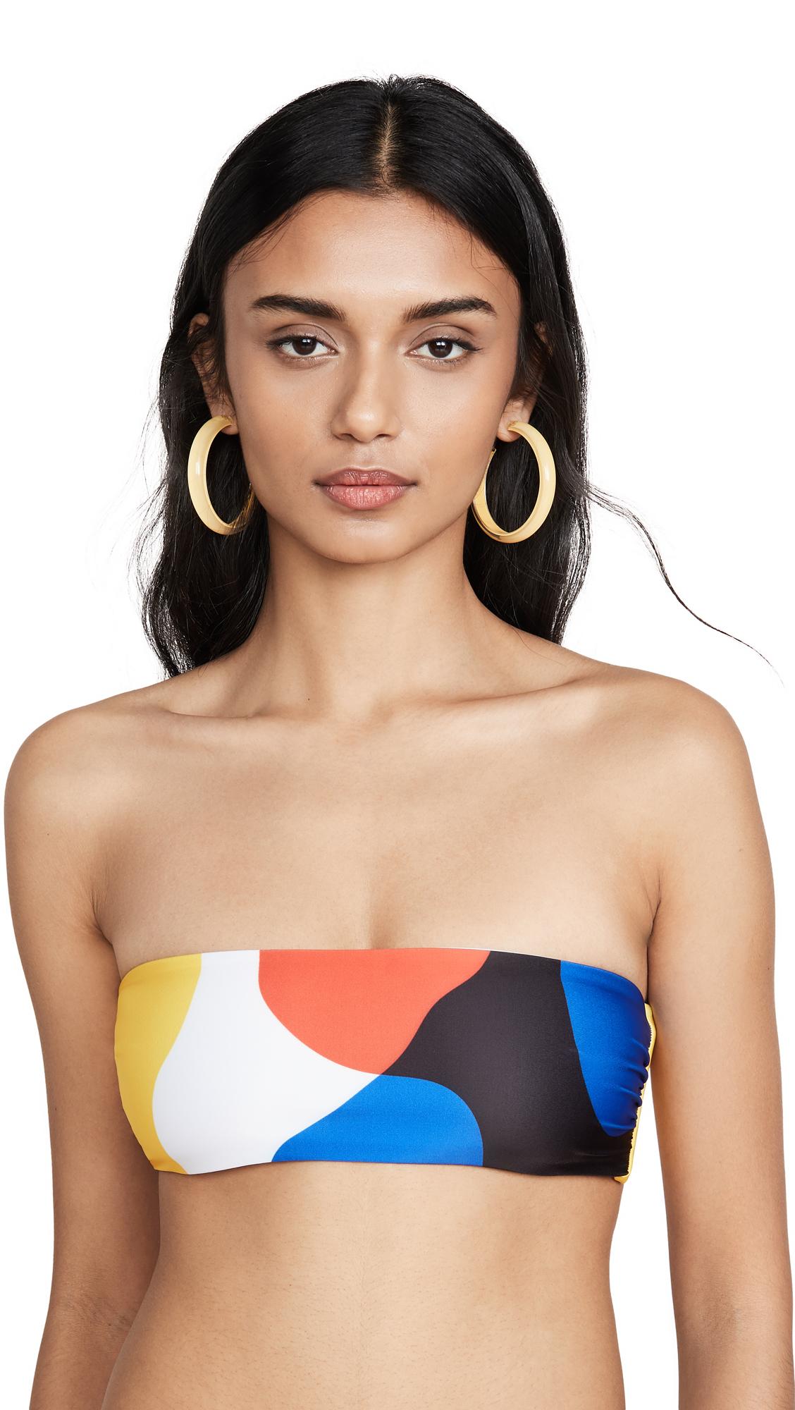 Buy Mara Hoffman online - photo of Mara Hoffman Abigail Bandeau Bikini Top
