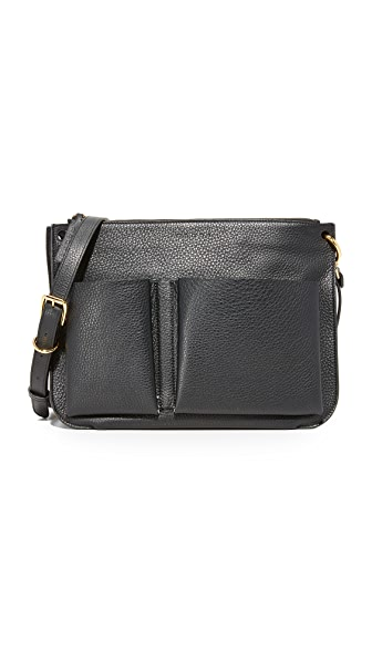 Marni Bandoleer Shoulder Bag - Black/Cement