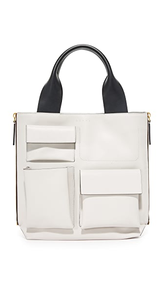 Marni Shopping Bag - Pelican