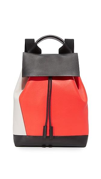 Marni Backpack - Fog/Indian Orange