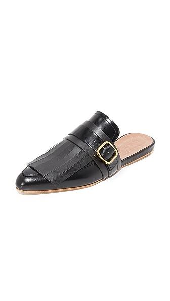 Marni Sabot Slides - Black