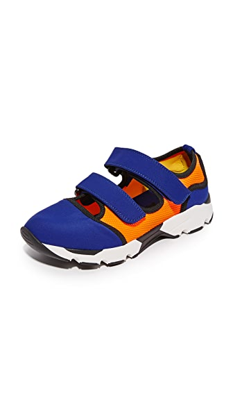 Marni Sneakers - Blue/Orange/Citrus