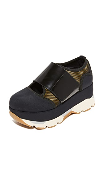 Marni Platform Sneakers - Black/Black