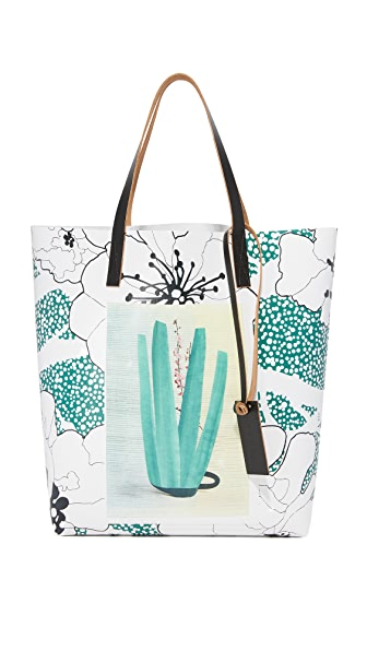 Marni Shopping Bag - Sea Green