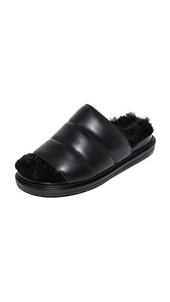 Marni Fusbett Sandals - Black