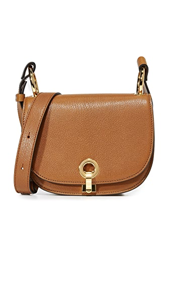 Marni Bandoleer Shoulder Bag - Gold Brown