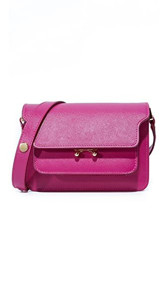 Marni Shoulder Bag - Cassis
