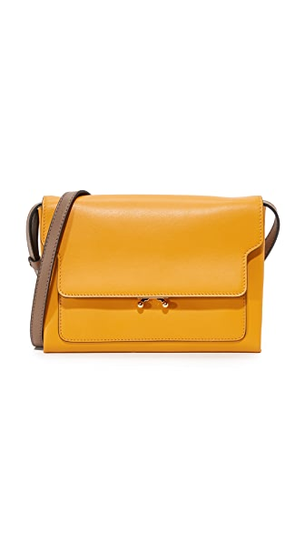Marni Pochette - Gold/Dusty Olive
