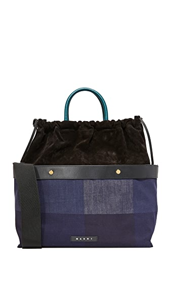 Marni Shopping Bag - Black
