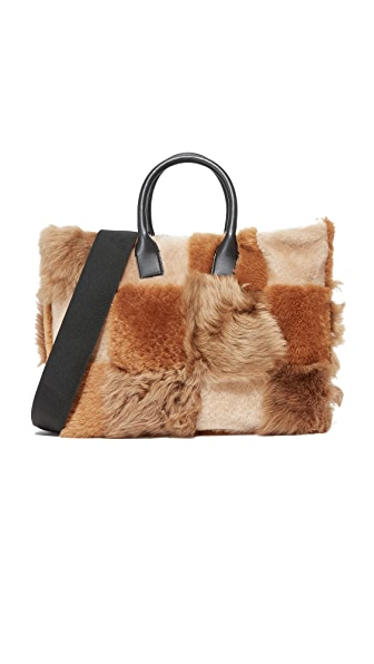 Marni Shopping Bag - Cigar