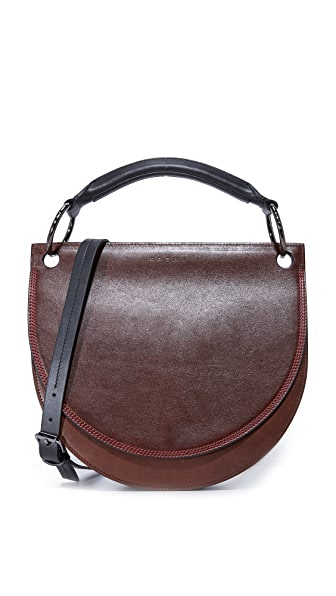Marni Shoulder Bag - Coffee/Black