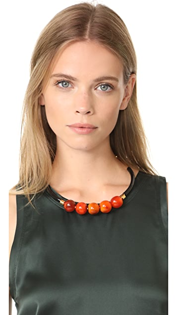 Marni Horn Sphere Necklace