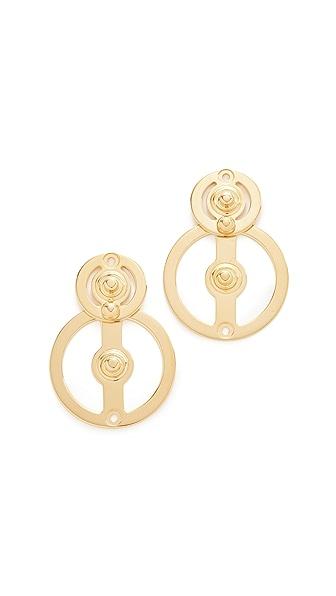 Marni Metal Earrings In Gold