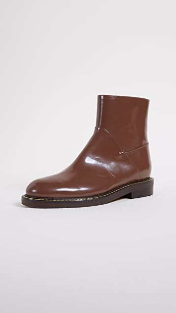 Marni Flat Ankle Boots