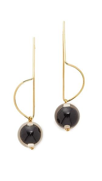 Marni Earrings with Sphere