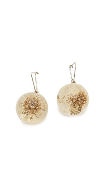 Marni Sphere Earrings - Palladium