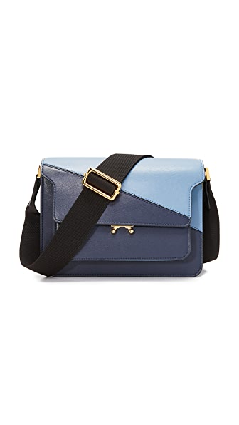 Marni Adjustable Shoulder Bag - Eclipse/Opal