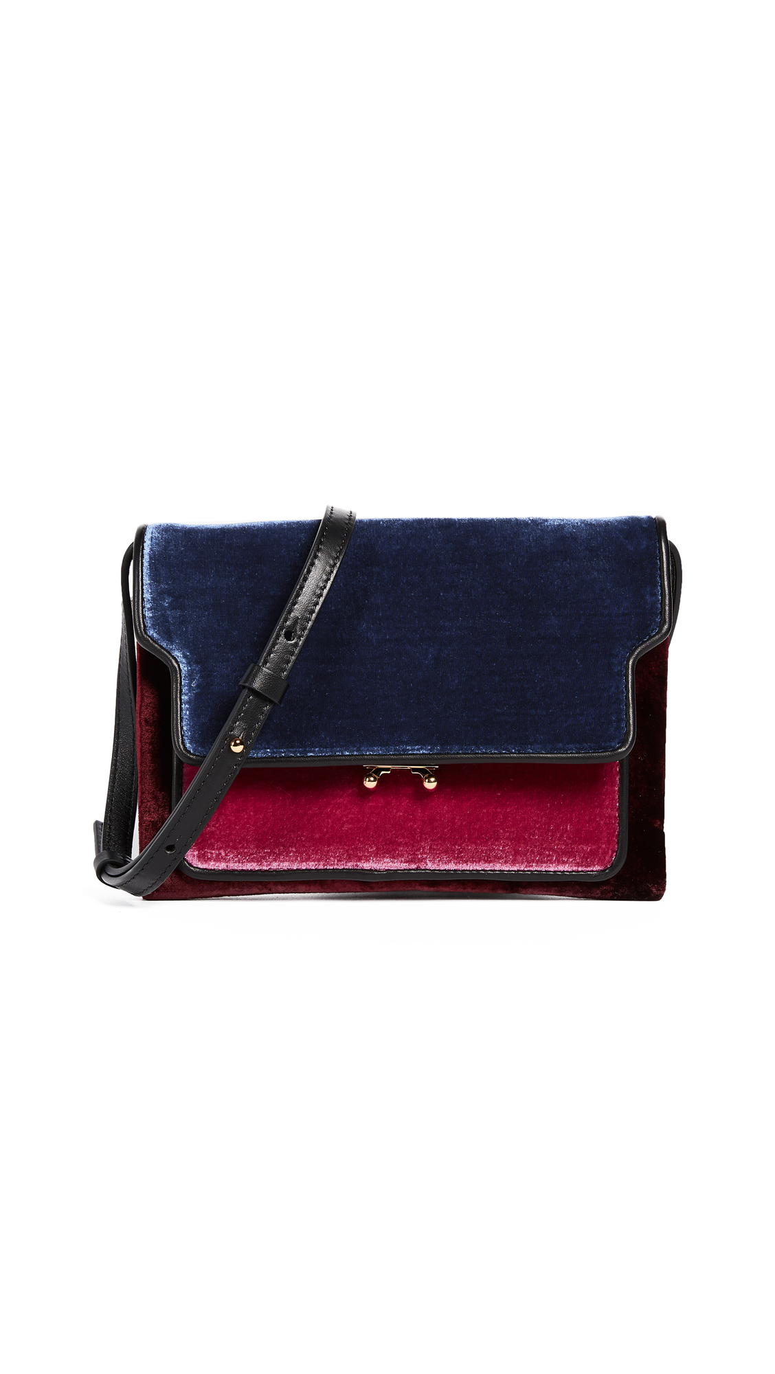 Marni Cross Body Bag - Iolite/Cassis/Ruby/Black