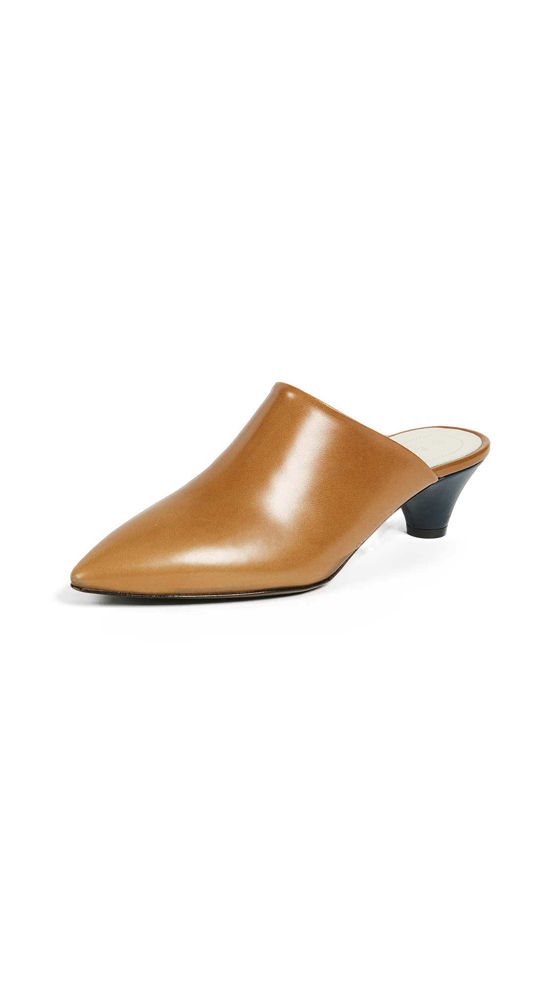 Marni Sabot Mule Pumps - Leather