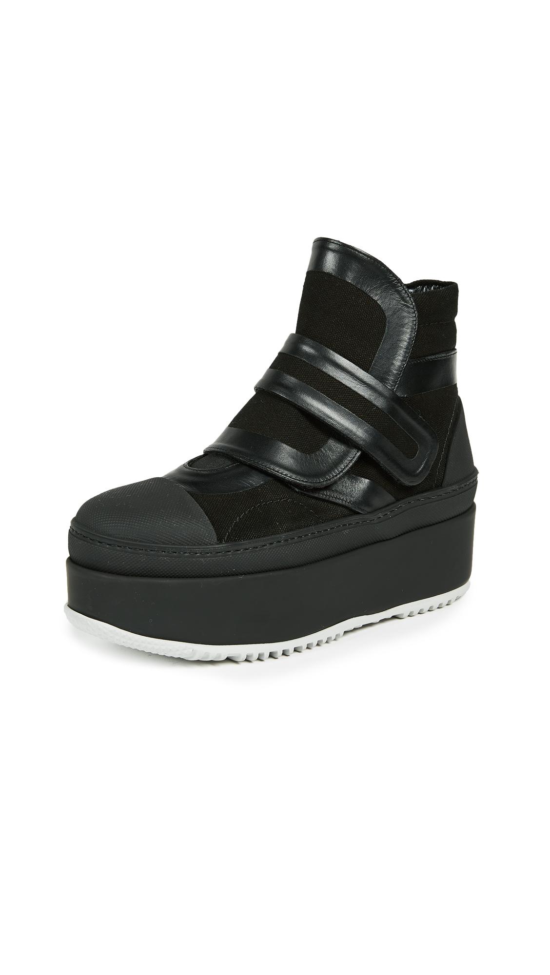 Marni Platform Boots - Black