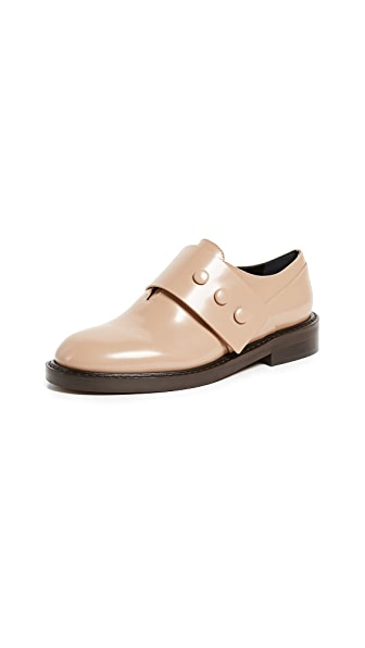 Marni Moccasin Loafers In Tan