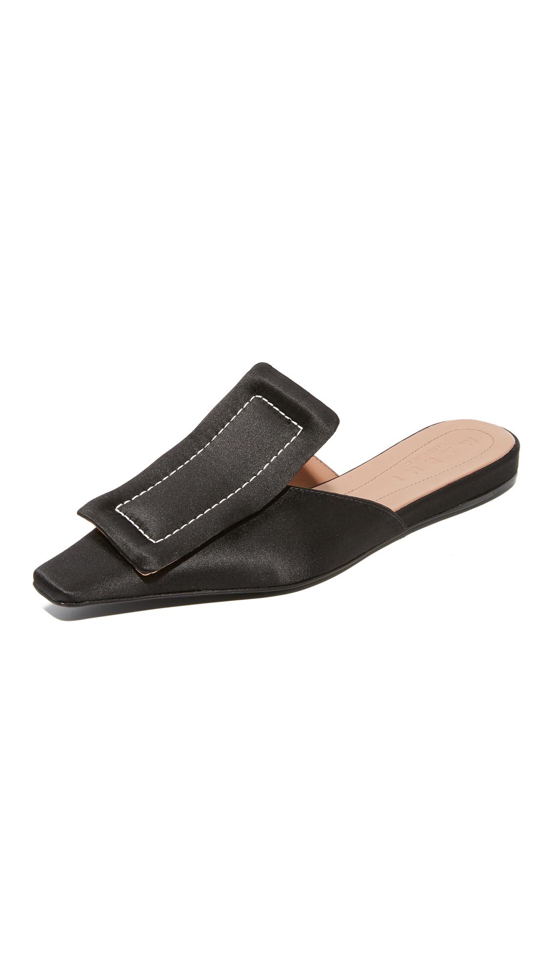 Marni Sabot Mules - Black