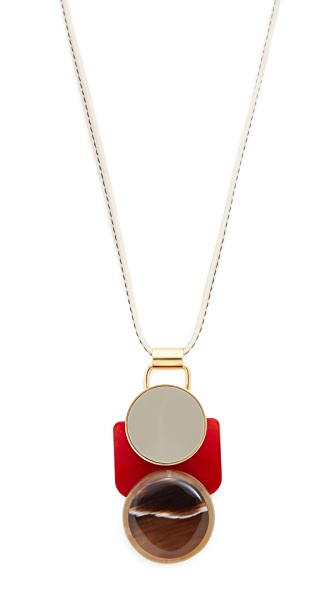 Marni Horn Pendant Necklace - Sodium