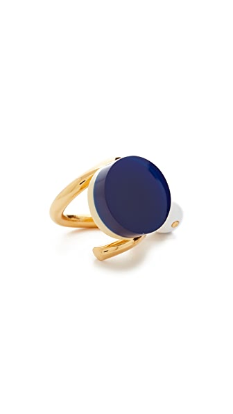 Marni Resin Ring - Ocean
