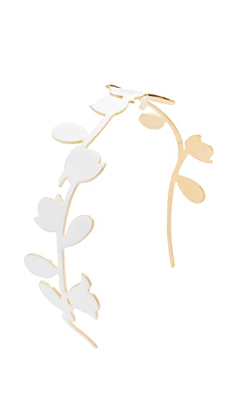 Marni Metal Hairband - Lily White